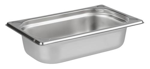 GN-Behälter 1/4 Edelstahl 65mm tief,1,8 ltr., 264x162mm