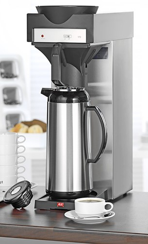 Coffee machine 170 MT from Melitta, *** delivery EXCLUDES vacuum flask *** Depth: 420 mm, width: 210mm, height: 600 mm