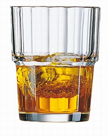 Beaker / juice glass NORVEGE, volume: 0.2 litre, Height: 88 mm, diameter: 72 mm, stackable, Arcoroc