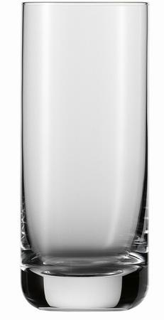 Long drink glass CONVENTION, volume: 0.37 litre, Height: 155 mm, diameter: 65 mm, Schott Zwiesel.