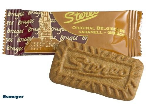KARAMELLGEBÄCK, (caramel pastry) Contents: 200 pieces  6 g per box, original Belgian caramel biscuits
