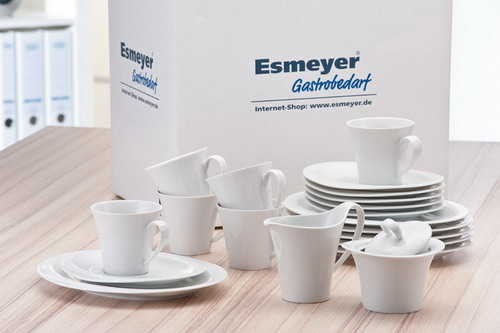 20 part Coffee set Form Top Life - plain white