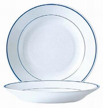 Soup plate 22 5 cm ARCOROC - decor Delft