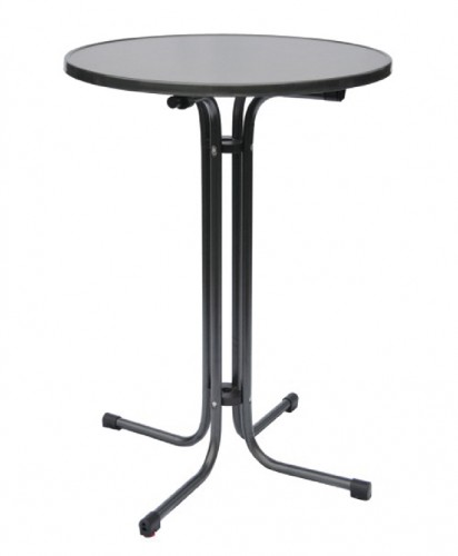 Bar table MARS anthracite Diameter: 70cm, height: 109cm