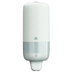 Tork soap dispenser ELEVATION S1, Material: Plastic, colour: white, contents: 1,000 ml.