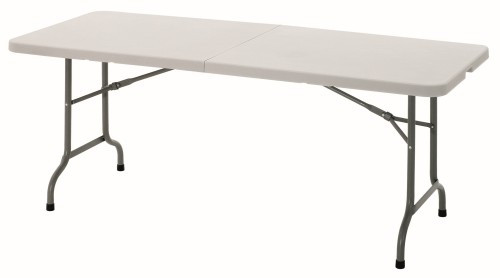 Bartscher folding multi-table  Carrying handle pedestal steel, painted  W 1,829 x D 762 x H 736 mm