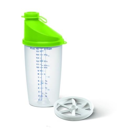 EMSA SUPERLINE mixing jug, 0.5L, trp./lime