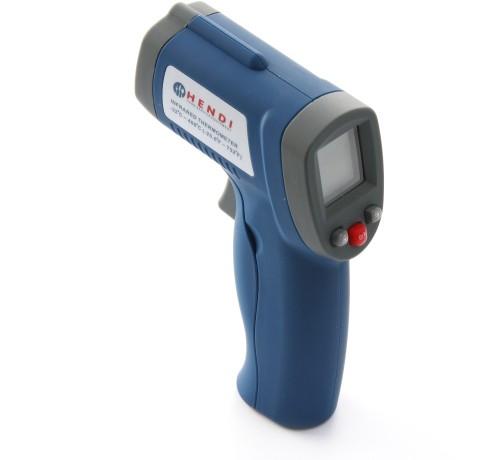 HENDI Infrarot Thermometer - -32/300C -  37x70x(H)150 mm. Zur Messung der Oberflächentemperatur.