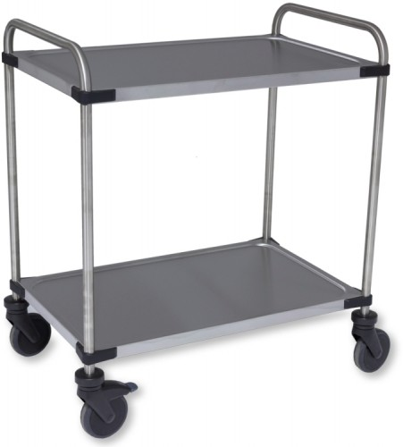 Rieber Serving cart 850 RL,2 Shelves,mounted